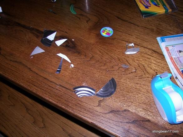 tin can scraps